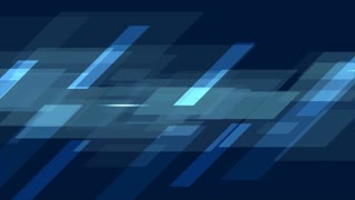 Dark blue tech geometric abstract motion design. Video animation Ultra HD 4K 3840x2160