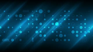 Dark blue technology sci-fi motion graphic design. Seamless looping video animation Ultra HD 4K 3840x2160