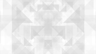 Geometric grey polygon shapes tech motion design. Seamless looping. Video animation Ultra HD 4K 3840x2160