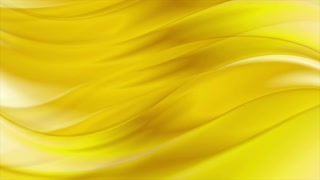 Golden abstract smooth liquid waves motion graphic design. Video animation Ultra HD 4K 3840x2160