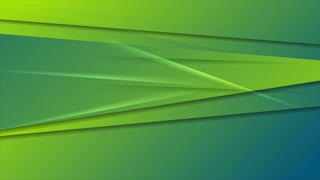 Green and blue abstract stripes motion graphic design. Seamless looping. Video animation Ultra HD 4K 3840x2160
