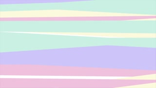 Hipster retro pastel abstract stripes motion graphic design. Seamless looping. Video animation Ultra HD 4K 3840x2160