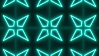 Neon Psychedelic Kaleidoscope