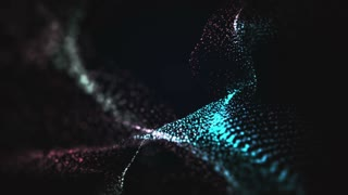 Organic Wave Alien Background