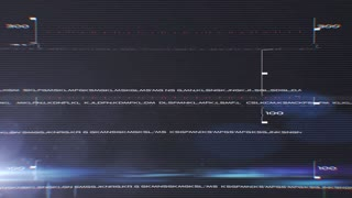 Sci-Fi Glitch Logo Reveal