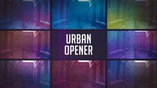 Urban Grunge Glitch Opener
