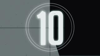 Retro Tape Countdown