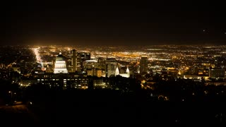 A cool timelapse of Salt Lake City and the Utah State Capitol