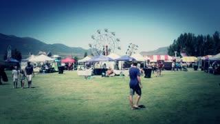 a fun county fair carnival