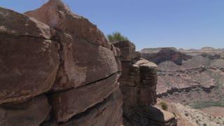 a jib shot the edge of grand canyon
