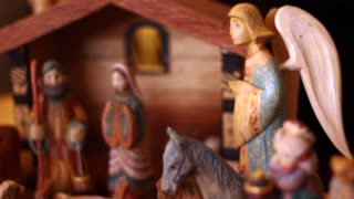 A nativity Creche
