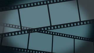 a scrolling film background