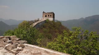 a tower on jiankou section great wall of china near beijing