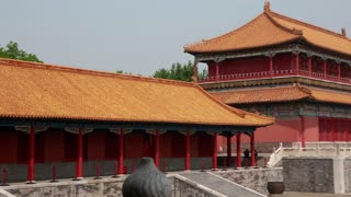 amazing forbidden city palace courtyard beijing china