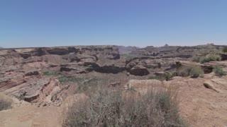 an amazing grand canyon jib shot