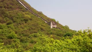 an ancient section of the great wall of china beijing