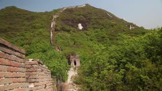 an old section of the great wall of china