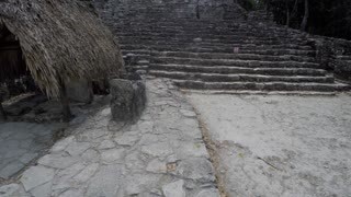Ancient Mayan ruins at Coba
