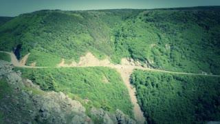 beautiful skyline trail in cape breton nova scotia