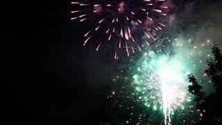 Big firework show