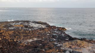 Blowhole (the Spouting Horn in Kauai)