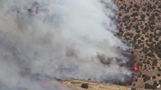 Burning Fire on Mountain