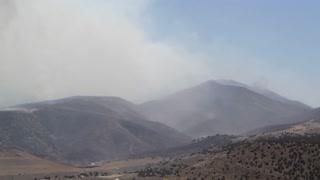 Burning Mountain Fire