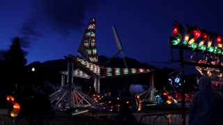 Carnival as Night Sets In