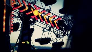 Carnival Rides Closeup