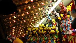 Carnival stuffed animals