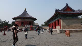 Chinese in the temple of heaven in Beijing China 2