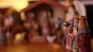 Christmas Creche Rack Focus