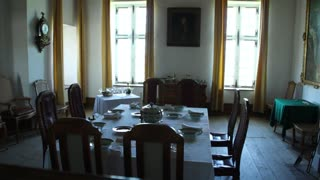 Colonial Mansion at Fort Louisbourg