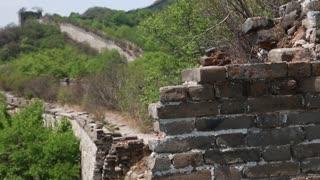 cool great wall of china on a mountain jiankou section