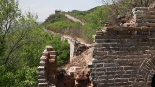 cool great wall of china on mountain jiankou section