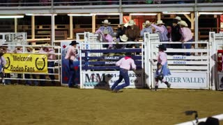 Dangerous Bull Riding Slow Motion