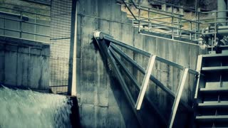 Diverting Water at Dam