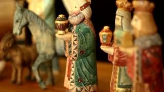 Dolly Shot Nativity Scene