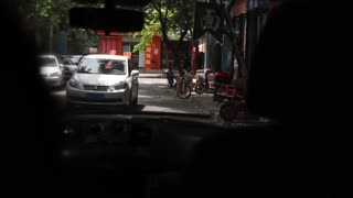 driving in a chinese city