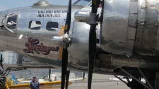 Editorial a B17 bomber in World War 2 traveling exhibit