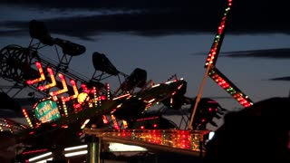 Fair Ride with Stobe Lights
