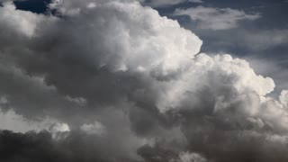 Fluffy Clouds Timelapse
