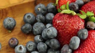 fresh berries for a fruit tart