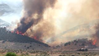 Gigantic Mountain Fire