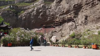 hanging temple in datong china