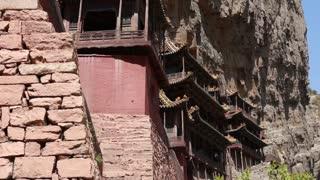 hanging temple monastery at datong china dolly