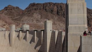 Hover Dam on the border of Nevada and Arizona