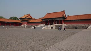 inside the forbidden city palace in beijing china