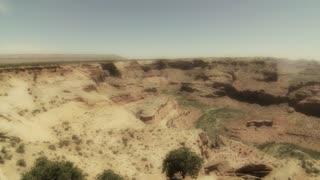 jib shot of grand canyon