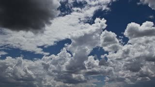 Large Clouds Time Lapse